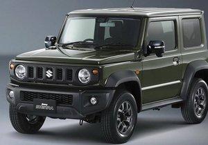 2018 Suzuki Jimny ortaya çıktı