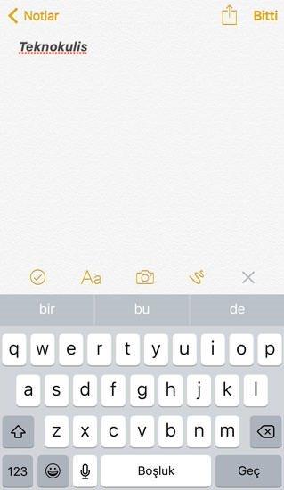 iOS'ta Notlar uygulamasının şifresi nasıl sıfırlanır?