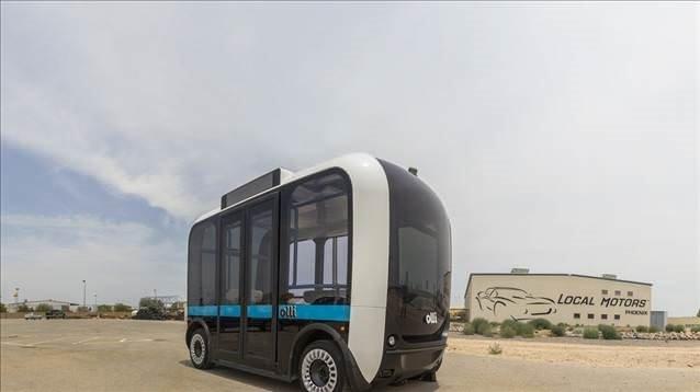 Elektrikli ve sürücüsüz minibüs Olli ile tanışın