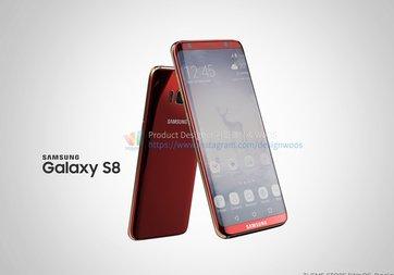 Galaxy S8'in basın görselleri sızdı!