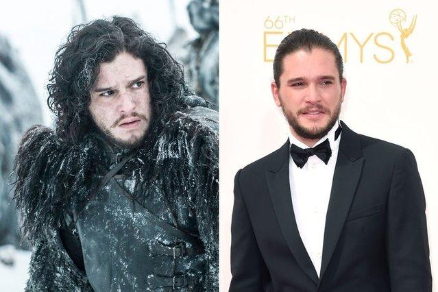 Game of Thrones oyuncularını bir de böyle görün!