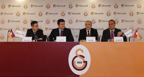 Galatasaray, Microsoft iş birliği