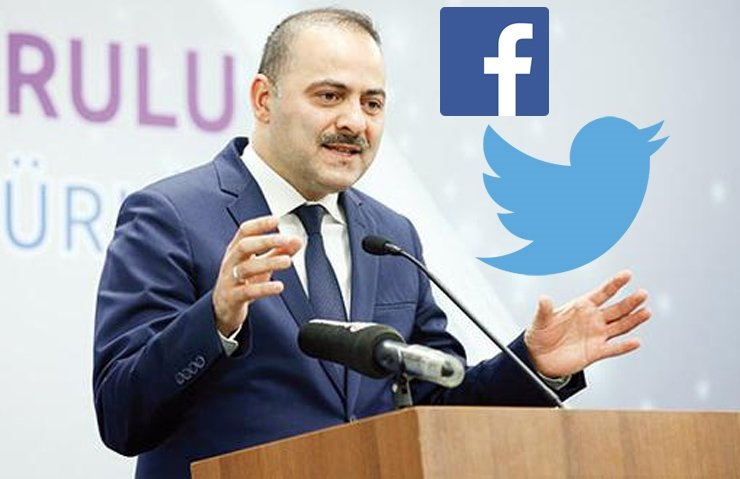 FACEBOOK VE TWİTTER'A REFERANDUM UYARISI