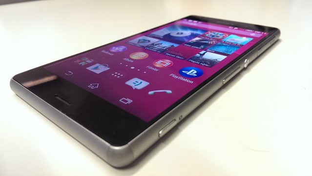 Sony Xperia Z3'ün fotoğrafları