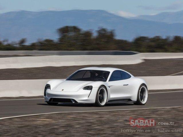 Porsche'nin ilk elektrikli otomobiliyle tanışın: Porsche Taycan