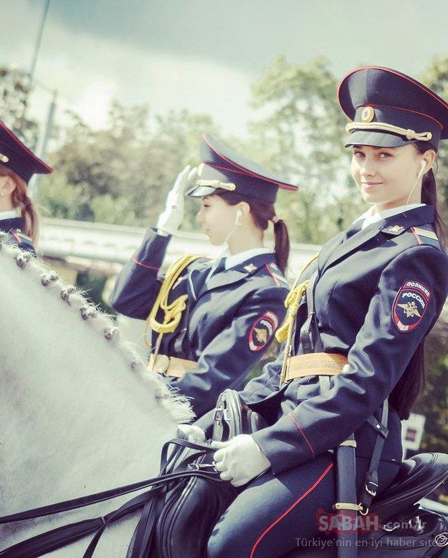 Rus polis sosyal medyayı salladı