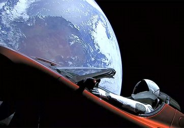 Falcon Heavy'nin uzay yolculuğu David Bowie'nin dinlenme oranını artırdı