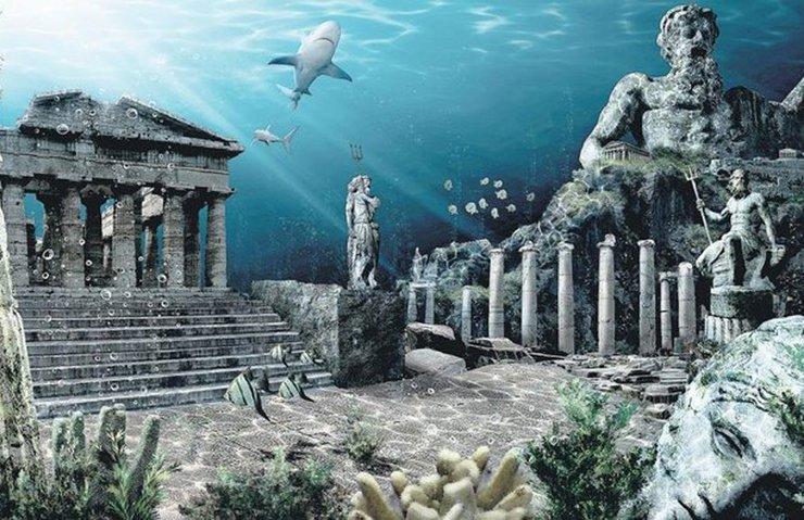 BULUNAN İZLER ATLANTİS'E AİT OLABİLİR Mİ?