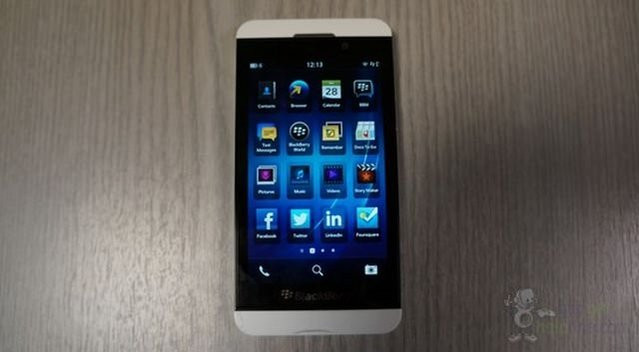Beyaz BlackBerry Z10