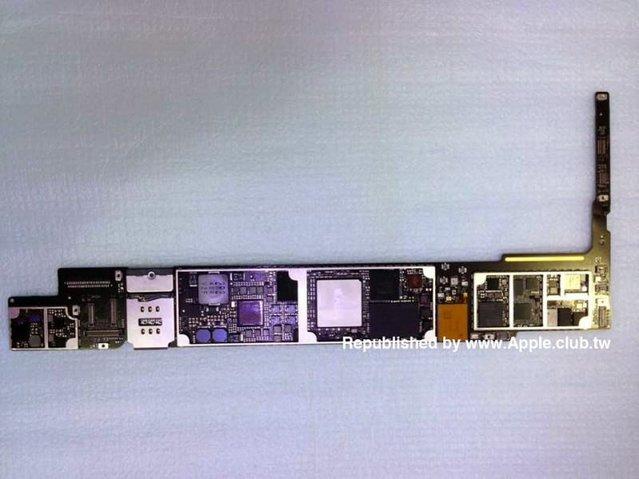 iPad Air 2 içinde A8X çipi yer alıyor ve sızıntı yeni görseller