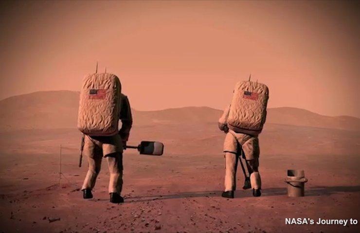 İŞTE NASA'NIN MARS YOLCULUĞU ADAYLARI