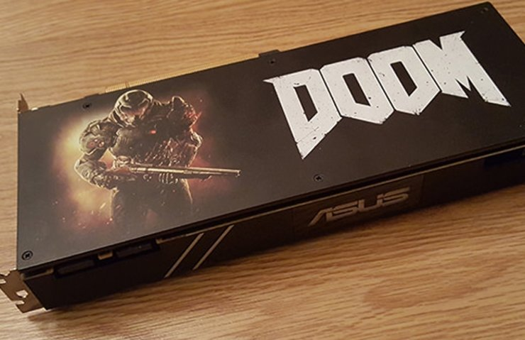 ASUS TURBO GEFORCE GTX 1070 - DOOM EDİTİON