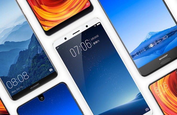 Piyasadaki tüm çerçevesiz akıllı telefonlar (2017)