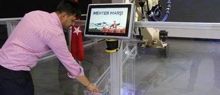 İstanbul Autoshow 2017'de robot şov