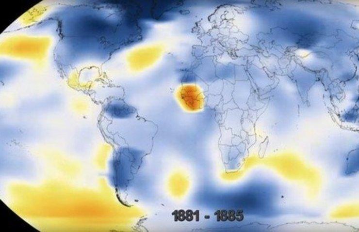 NASA'nın gözünden Dünya'nın 137 yıllık değişimi!