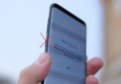 Bixby tuşunu gizleyen Galaxy S8 kılıfı