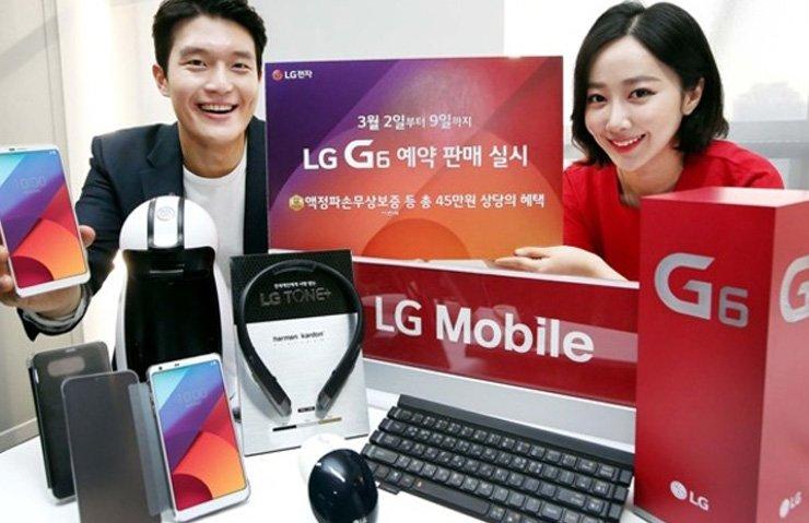 LG G6'NIN İLK SATIŞ RAKAMLARI GELDİ