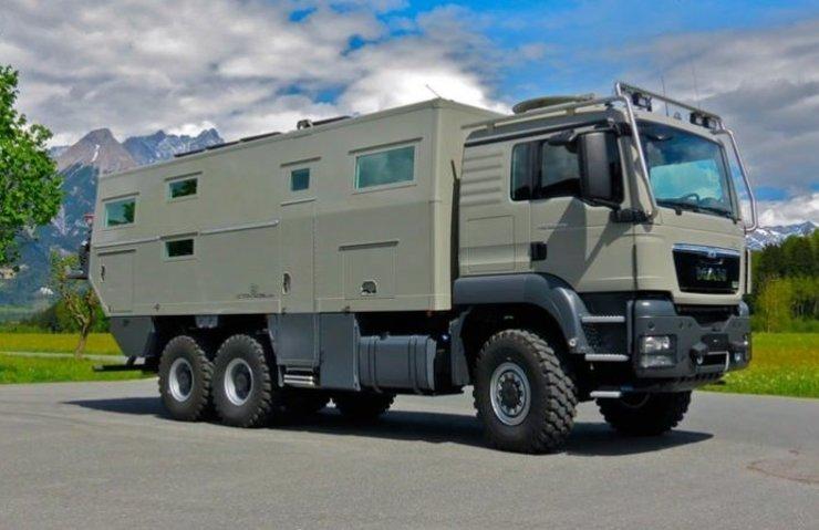 Zırhlı kamyonu lüks rezidansa dönüştürdüler!