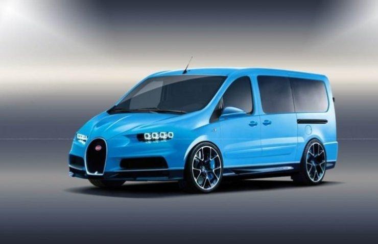 Spor otomobil devleri minibüs geliştirse nasıl olurdu?