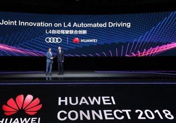 Audi ve Huawei'den önemli iş birliği