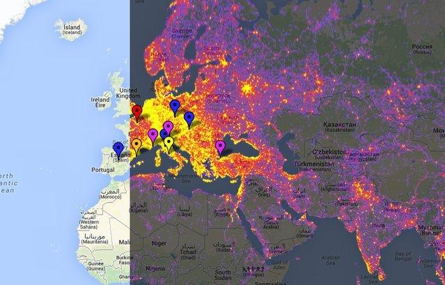 İstanbul en çok görüntülenen 10 şehir arasında