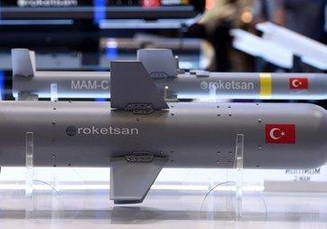 Roketsan yeni mühimmatlarını Ukrayna'da görücüye çıktı