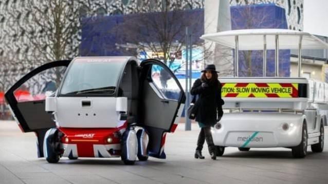 Sürücüsüz Pathfinder Pod trafiğe çıktı