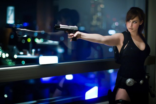Dikkat çekici Lara Croft cosplay'leri