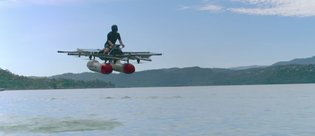 Google patronunun uçan otomobili tanıtıldı! İşte Kitty Hawk Flyer'ın videosu