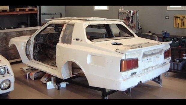 1984 model arabayı böyle yenilediler
