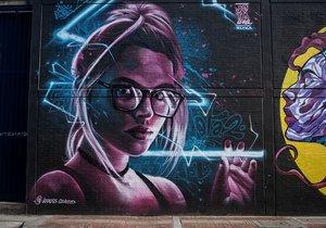 Bogota'daki grafitili mahalle dünyanın ilgisini çekiyor