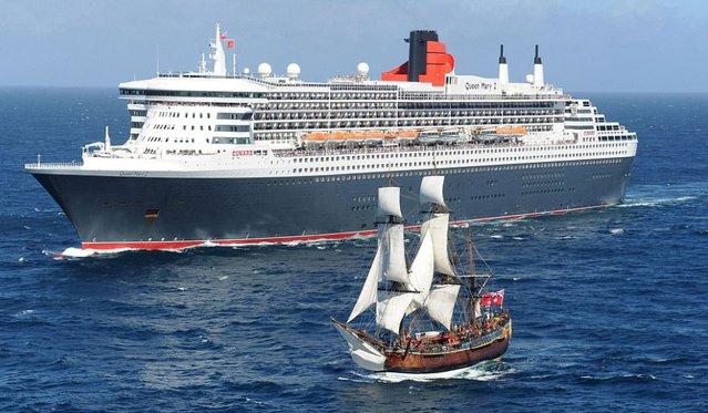 Dev yolcu gemilerine bir de böyle bakın