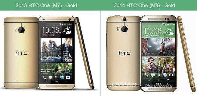 The All New HTC One, HTC One'a karşı