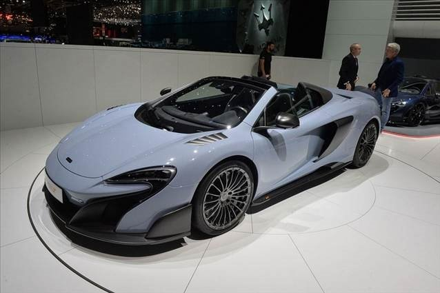 Sadece 500 tane üretilen McLaren 675LT Spider Cenevre'de