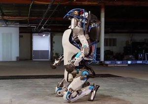 Boston Dynamics'in robotu artık insan gibi koşuyor