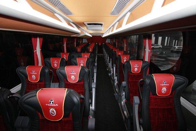 Galatasaray'ın takım otobüsü TEMSA Maraton oldu