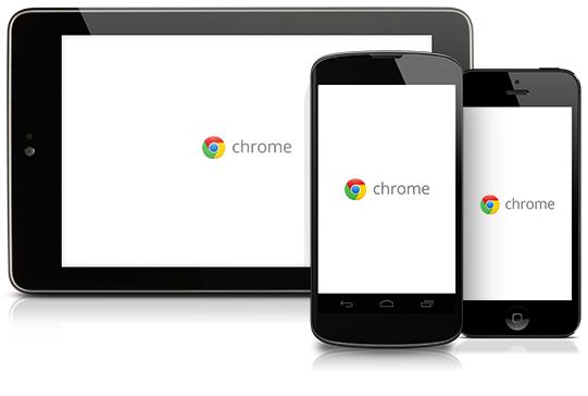 Mobil platformda Chrome'un geçmişini silmek