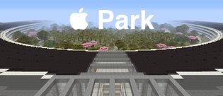 Apple Park'ı Minecraft'ta 413 saatte yaptılar!