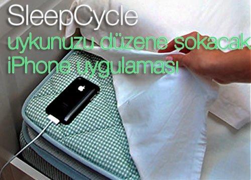 Uykunuzu düzene sokan iPhone uygulaması