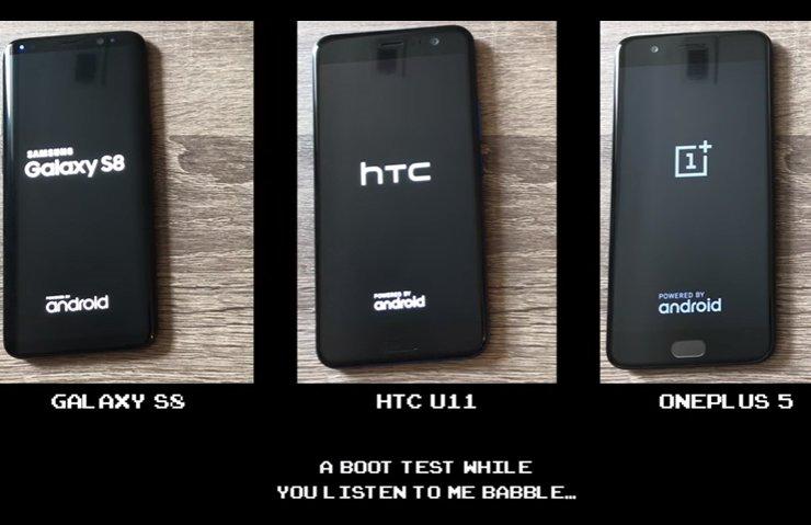 HIZ TESTİ: ONEPLUS 5 MI HTC U11 Mİ GALAXY S8 Mİ?