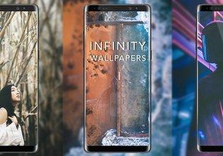 Galaxy S8/S8+ ve Note 8 için Sonsuzluk Ekranı duvar kağıtları