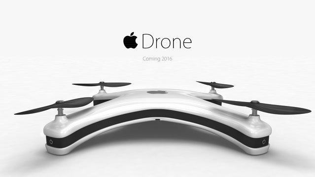 Apple, drone üretseydi nasıl gözükürdü?