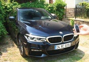 BMW 520d Sedan M Sport mercek altında