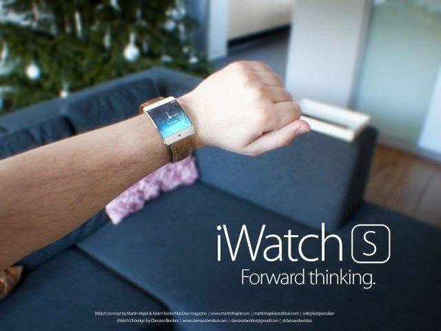 Apple iWatch S ve C konseptleri