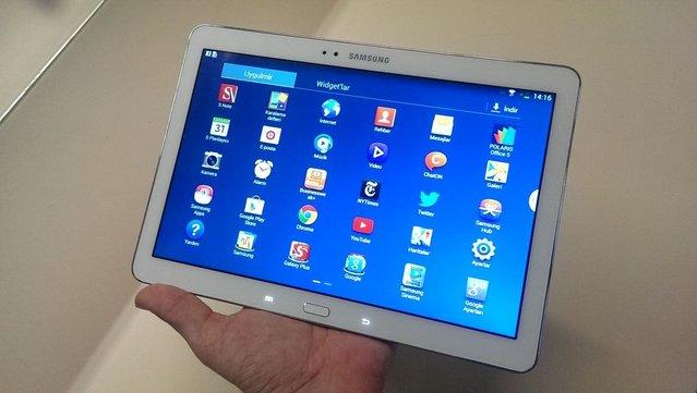 Samsung Galaxy Note 10.1 2014 Edition fotoğrafları