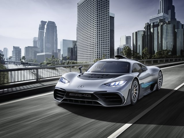2017 Mercedes-Benz AMG Project ONE Concept göz kamaştırdı