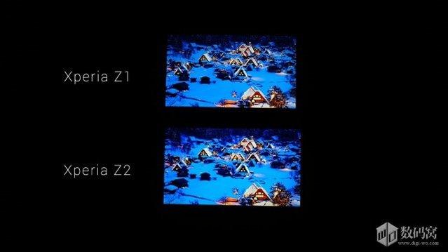Ekran karşılaştırması: Xperia Z1 vs Xperia Z2