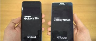 O video da geldi: Galaxy S8+ ile Galaxy Note 5 hız testinde karşı karşıya!