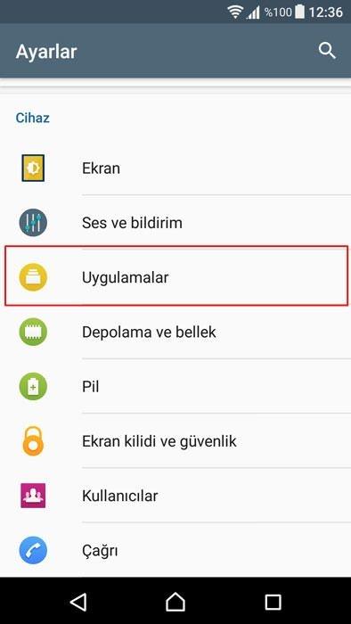 Android cihazlarda herhangi bir uygulamanın bildirimleri nasıl kapatılır?