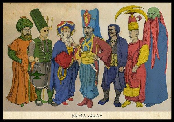 Süper kahramanlar Osmanlı zamanında!